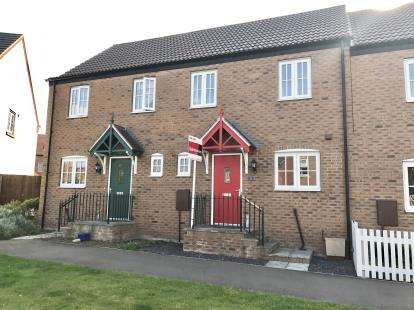 3 Bedrooms Terraced House for sale in Riverside, Boston, Lincolnshire, England