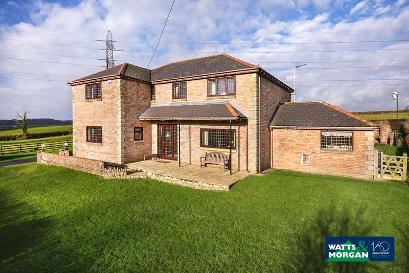 4 Bedrooms Detached House for sale in Welsh St Donats, Near Cowbridge, Vale of Glamorgan, CF71 7SS