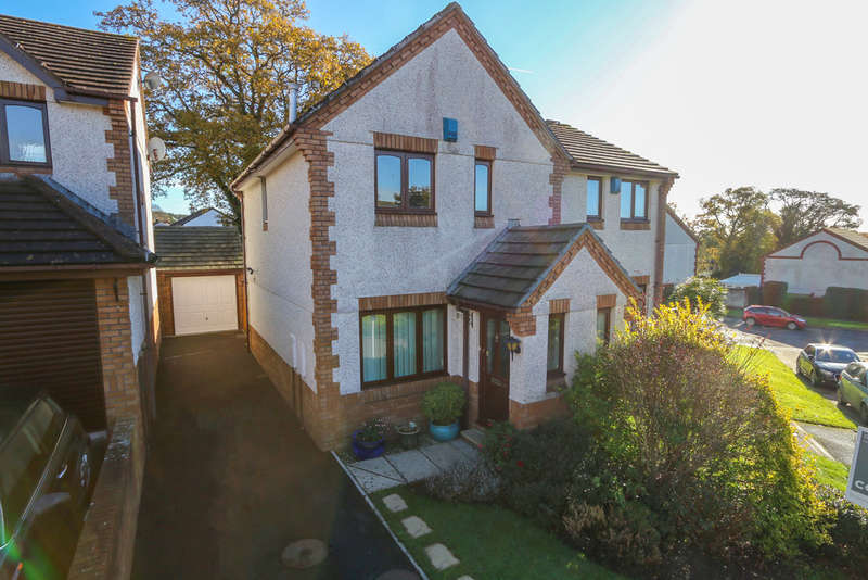 3 Bedrooms Semi Detached House for sale in Churchfields Drive, Bovey Tracey
