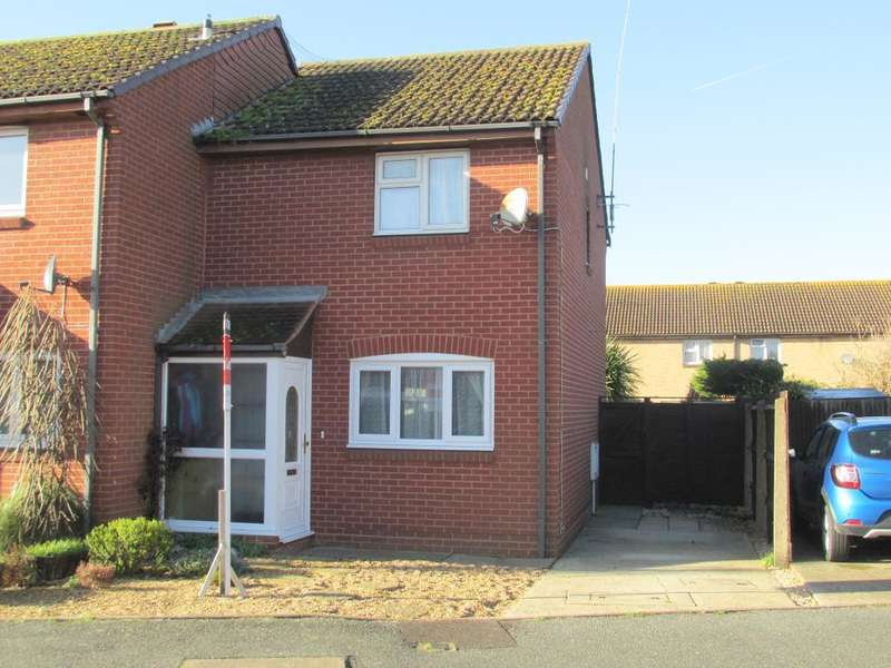 3 Bedrooms End Of Terrace House for sale in Montgomery Drive, Middleton on Sea, Bognor Regis, West Sussex, PO22 6RS