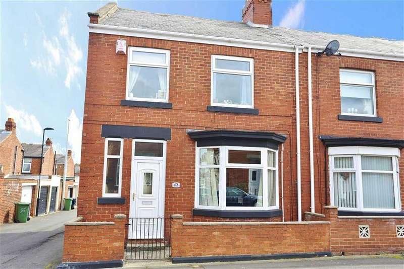 3 Bedrooms End Of Terrace House for sale in Colchester Terrace, High Barnes, Sunderland, SR4