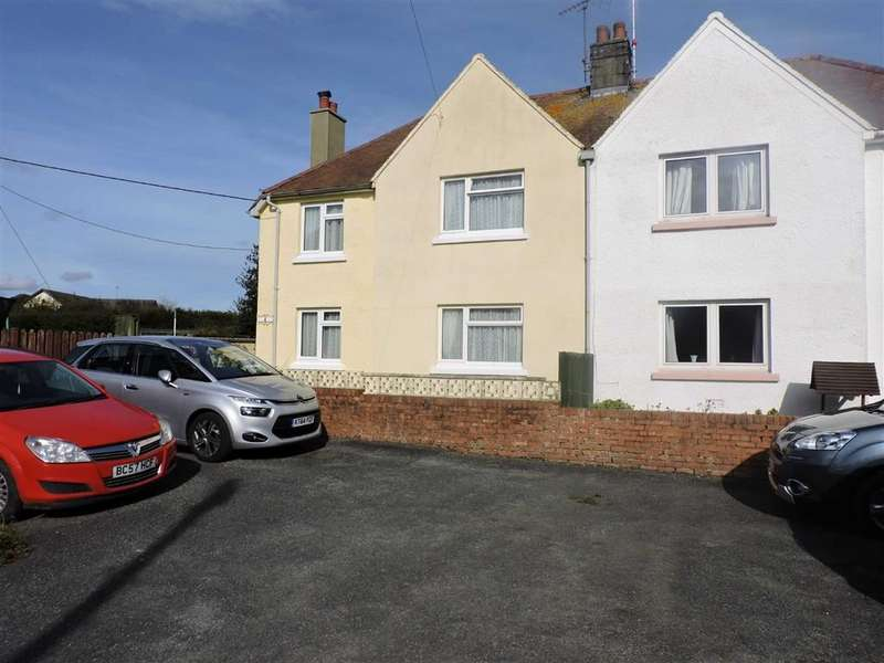 3 Bedrooms Semi Detached House for sale in Ludchurch, Narberth, Pembrokeshire