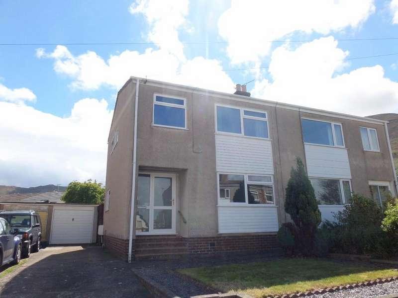3 Bedrooms Semi Detached House for sale in Gwynan Park, Dwygyfylchi, Penmaenmawr