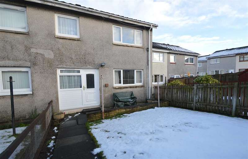 2 Bedrooms Terraced House for sale in Rannoch Court, Blantyre