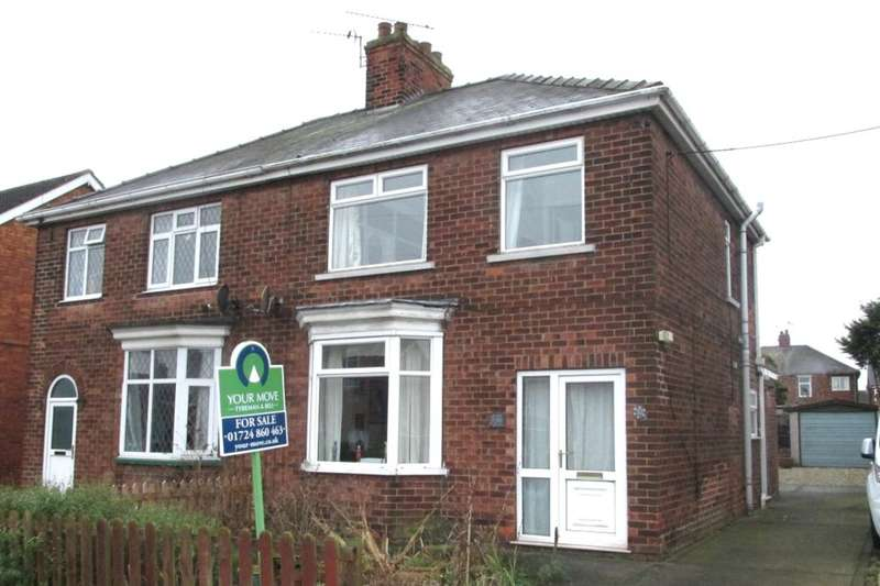 3 Bedrooms Semi Detached House for sale in Milton Road, Scunthorpe, DN16