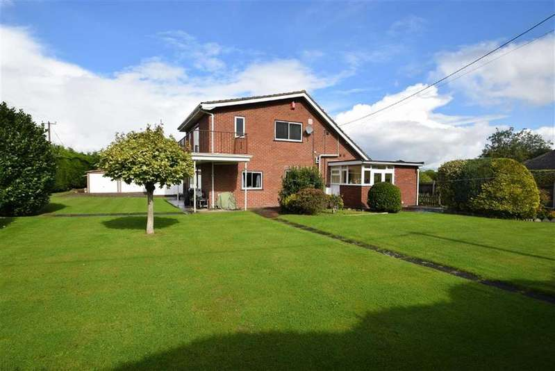 4 Bedrooms Detached House for sale in Hall Drive, Hadnall, Shrewsbury