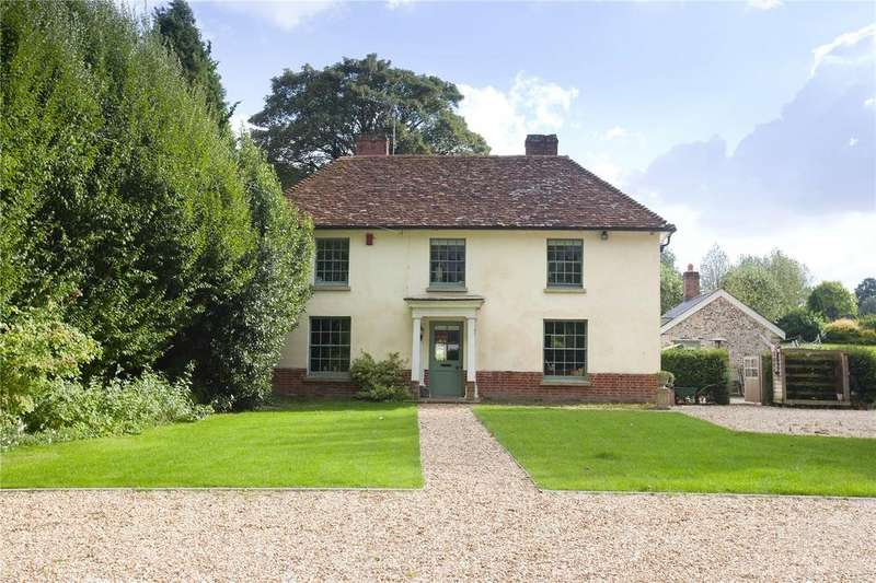 5 Bedrooms Detached House for sale in Over Wallop, Stockbridge, Hampshire, SO20