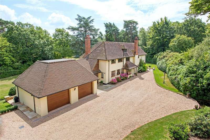 5 Bedrooms Unique Property for sale in Fleet Hill, Finchampstead, Wokingham, Berkshire, RG40