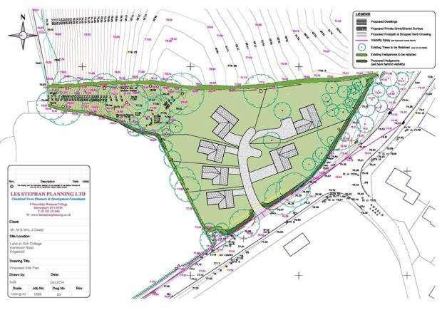 Land Commercial for sale in Oak Cottage Development, Edgebold, Shrewsbury, Shropshire