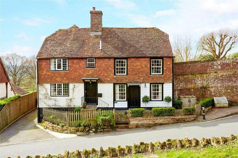 2 Bedrooms Semi Detached House for sale in School Hill, Burwash, Etchingham, East Sussex, TN19