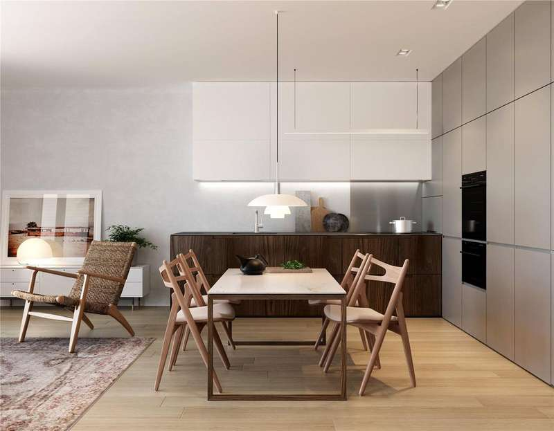 2 Bedrooms Flat for sale in Abernethy House, Barts Square, West Smithfield, Farringdon, Barbican, EC1A