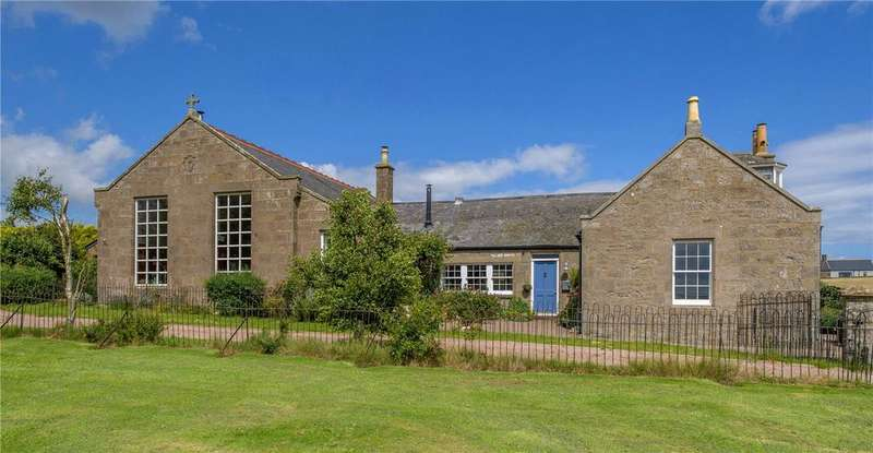 5 Bedrooms Detached House for sale in The Old Schoolhouse, Catterline, Stonehaven, Kincardineshire, AB39