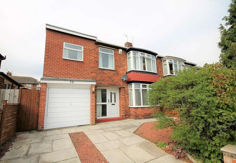 3 Bedrooms Semi Detached House for sale in Upsall Grove, Fairfield, Stockton-On-Tees