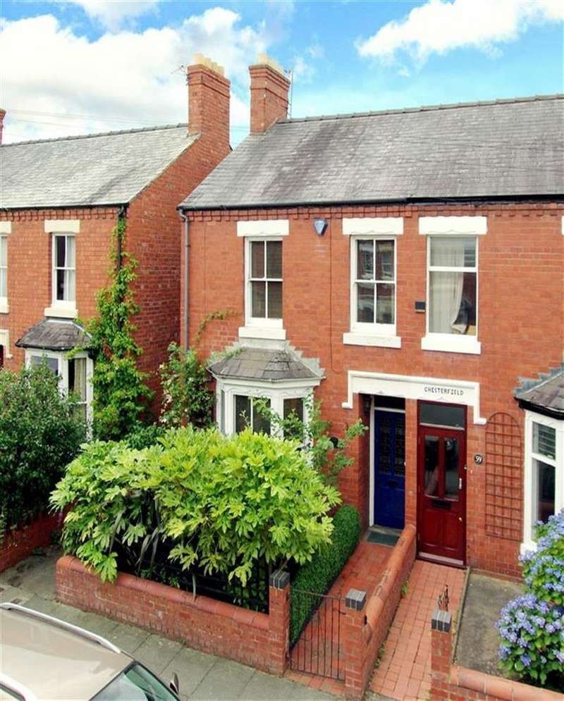 3 Bedrooms Semi Detached House for sale in Canon Street, Cherry Orchard, Shrewsbury, Shropshire