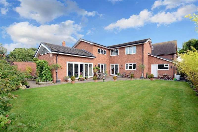 4 Bedrooms Detached House for sale in Hazledene, Dorrington, Shrewsbury, Shropshire
