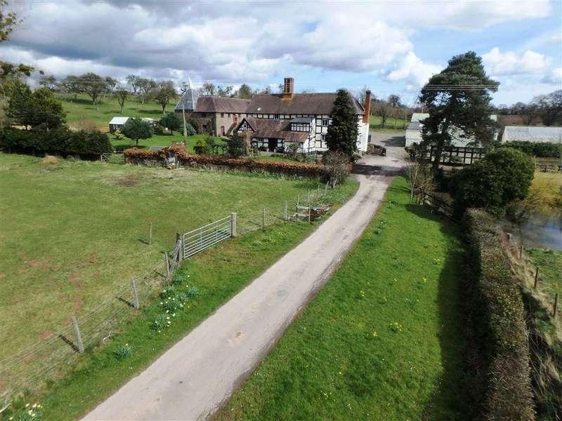 5 Bedrooms Detached House for sale in Ashperton, Ledbury