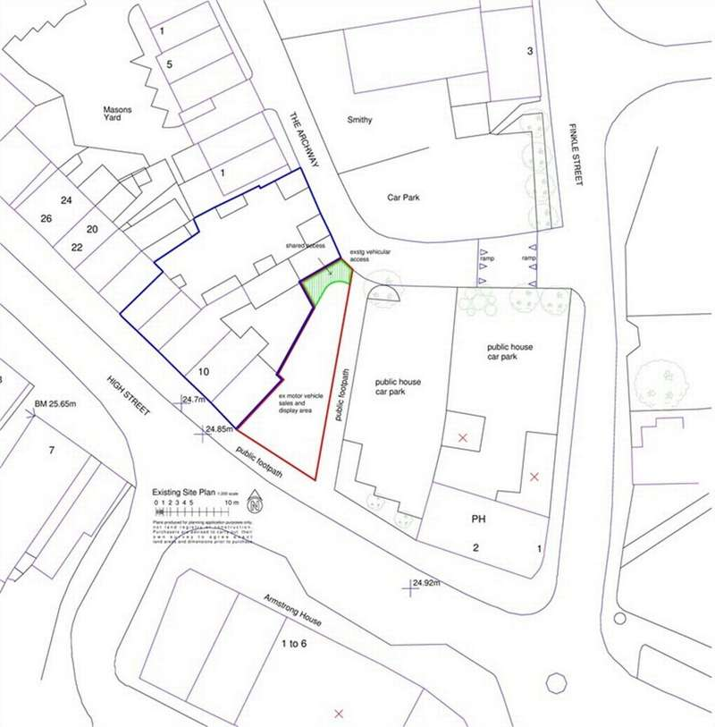 Land Commercial for sale in High Street, Market Weighton, York