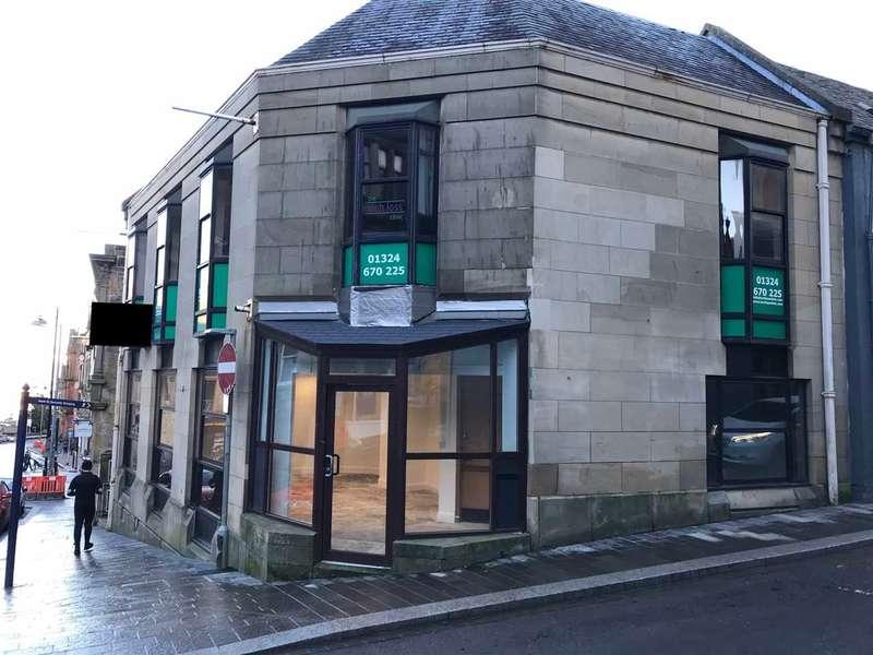 Shop Commercial for rent in Vicar Street, Falkirk