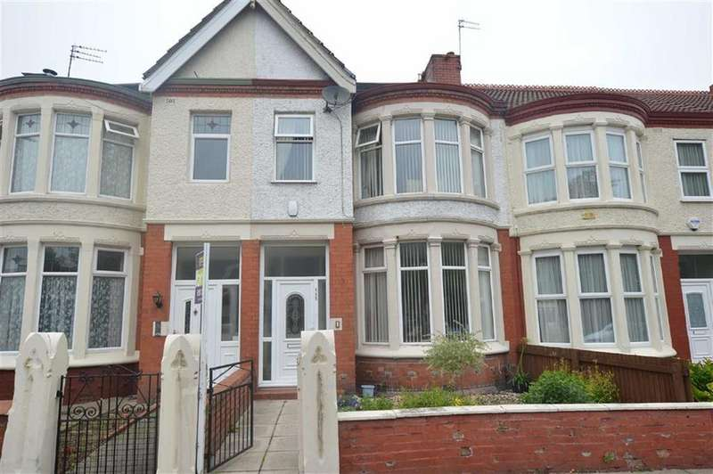 3 Bedrooms Terraced House for sale in Park Road North, Claughton, CH41