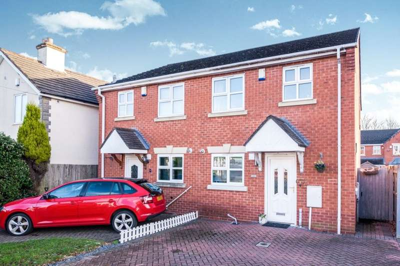 3 Bedrooms Semi Detached House for sale in Huntington Terrace Road, Cannock, WS11