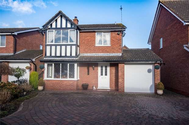 4 Bedrooms Detached House for sale in The Pines, Lichfield, Staffordshire