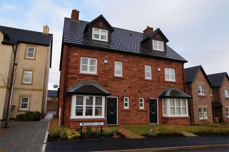 4 Bedrooms Town House for sale in CA5 7LF Bishops Way, Dalston, Carlisle, Cumbria