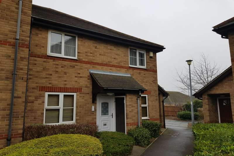 2 Bedrooms Flat for sale in Burton Court, Peterborough, PE1