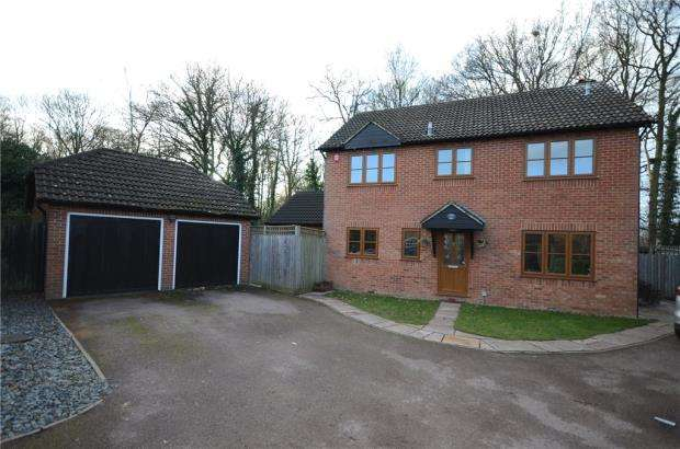 4 Bedrooms Detached House for sale in Oregon Walk, Finchampstead, Wokingham