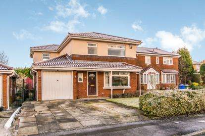 5 Bedrooms Detached House for sale in Lime Close, Richmond Park, Dukinfield