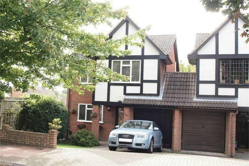 4 Bedrooms Link Detached House for sale in Wood Lodge Lane, West Wickham, Kent