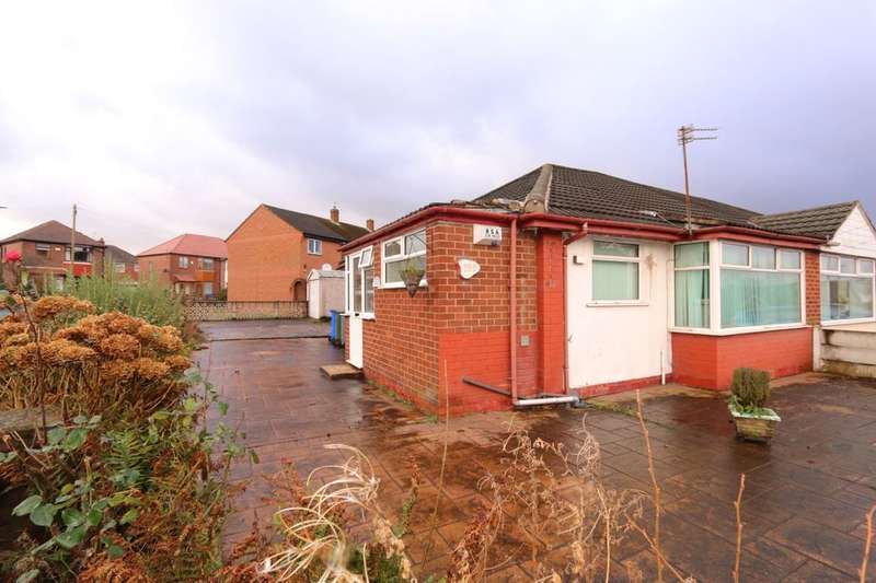 2 Bedrooms Semi Detached Bungalow for sale in St. Annes Road, Denton, Manchester, M34
