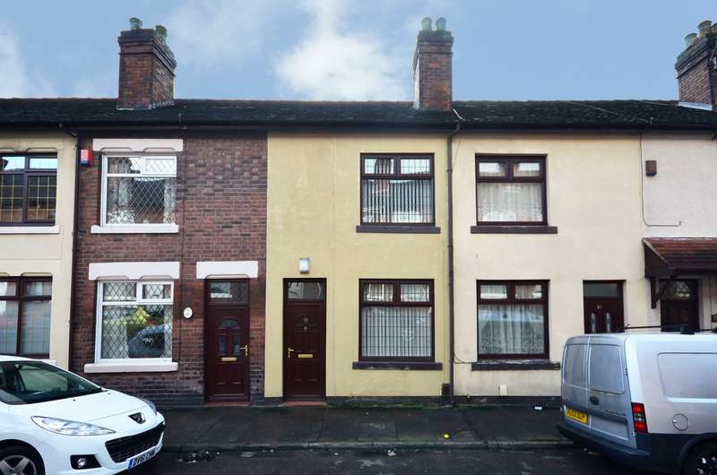 2 Bedrooms Terraced House for sale in Heber Street, Longton, ST3 1LA