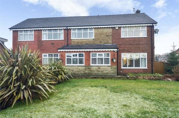 5 Bedrooms Detached House for sale in Evesham Close, Middleton, Manchester, Lancashire