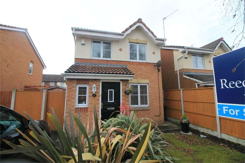 3 Bedrooms Detached House for sale in Opal Close, Litherland, Liverpool, Merseyside