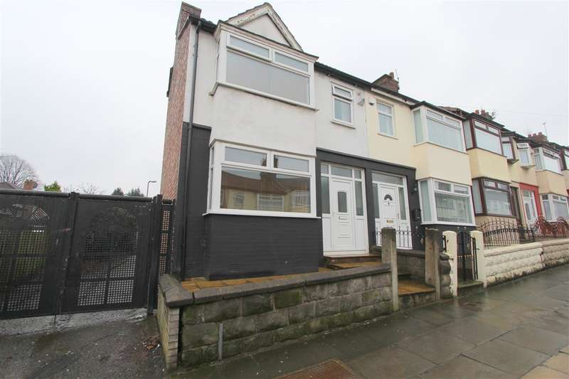 3 Bedrooms End Of Terrace House for sale in Saville Road, Old Swan, Liverpool