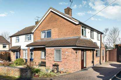 3 Bedrooms Semi Detached House for sale in Springfield, Littleover, Derby, Derbyshire