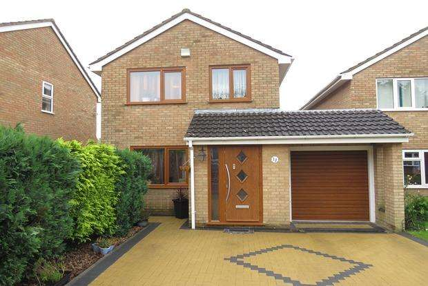 3 Bedrooms Detached House for sale in Oleander Crescent, Cherry Lodge, NN3