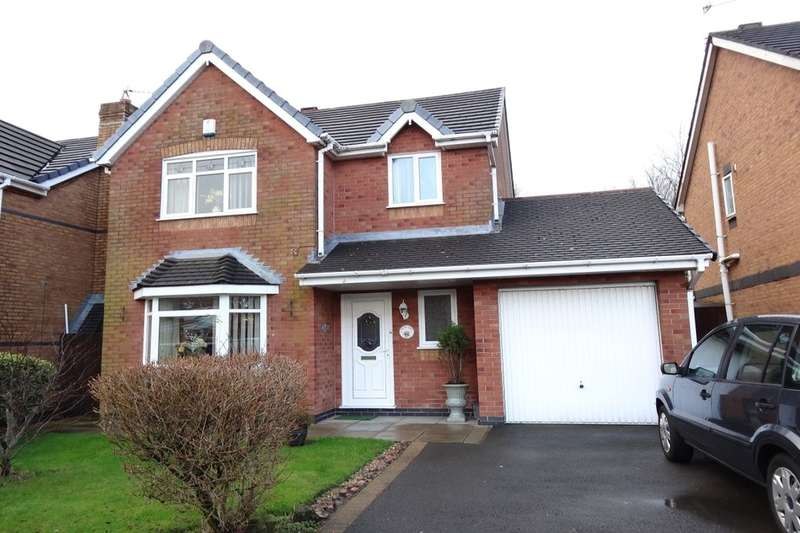 3 Bedrooms Detached House for sale in Teil Green, Fulwood, Preston, PR2