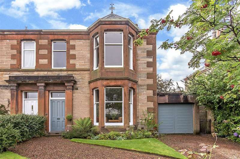 5 Bedrooms Semi Detached House for sale in 7 Fitzroy Terrace, Perth, PH2