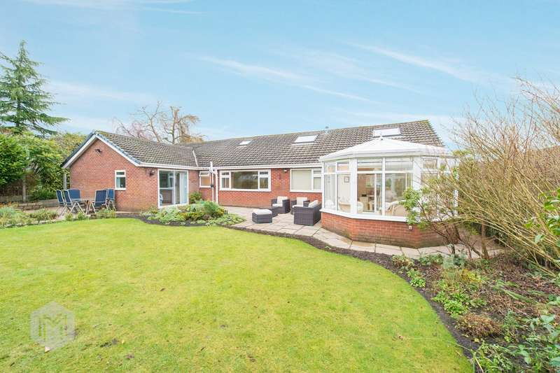 4 Bedrooms Detached Bungalow for sale in Whitebirk Close, Greenmount, Bury, BL8
