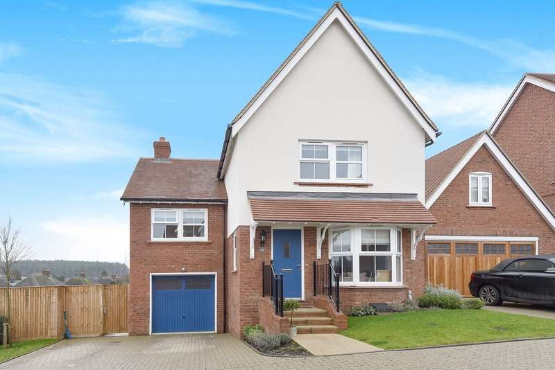 4 Bedrooms Detached House for sale in Probyn Close, Kimpton, Hitchin, SG4