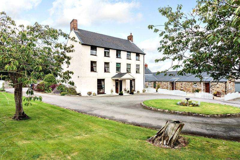 8 Bedrooms Farm House Character Property for sale in Portfield Gate, Haverfordwest, SA62