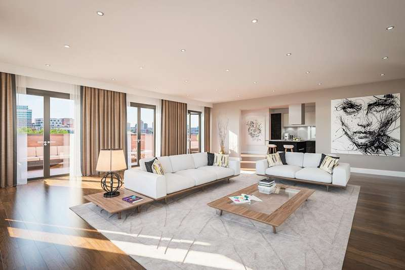 3 Bedrooms Apartment Flat for sale in St Pauls Chambers, Caroline Street, Jewellery Quarter, Birmingham