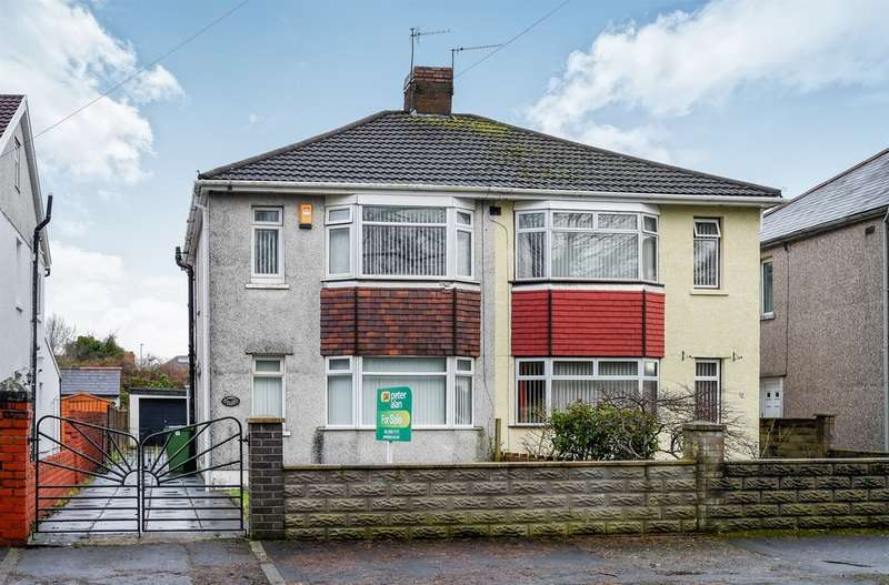 3 Bedrooms Semi Detached House for sale in Lansdowne Avenue West, Canton, Cardiff