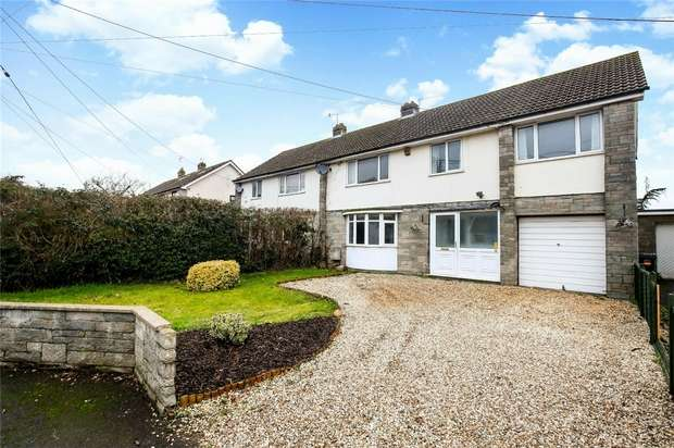4 Bedrooms Semi Detached House for sale in High Street, Portbury, Bristol