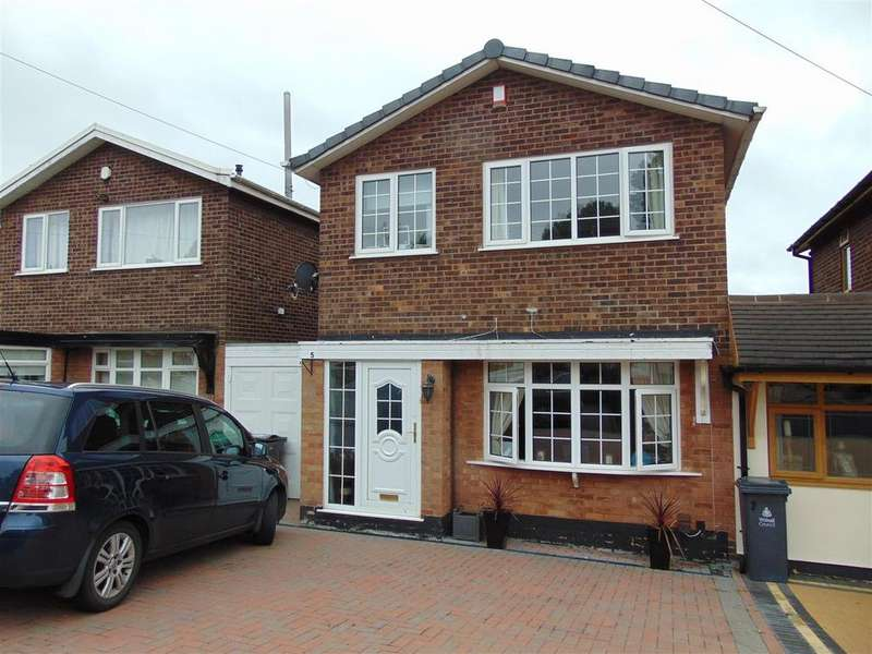 3 Bedrooms Link Detached House for sale in Little Lawns Close, Walsall Wood