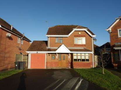 4 Bedrooms Detached House for sale in Swan Way, Coalville