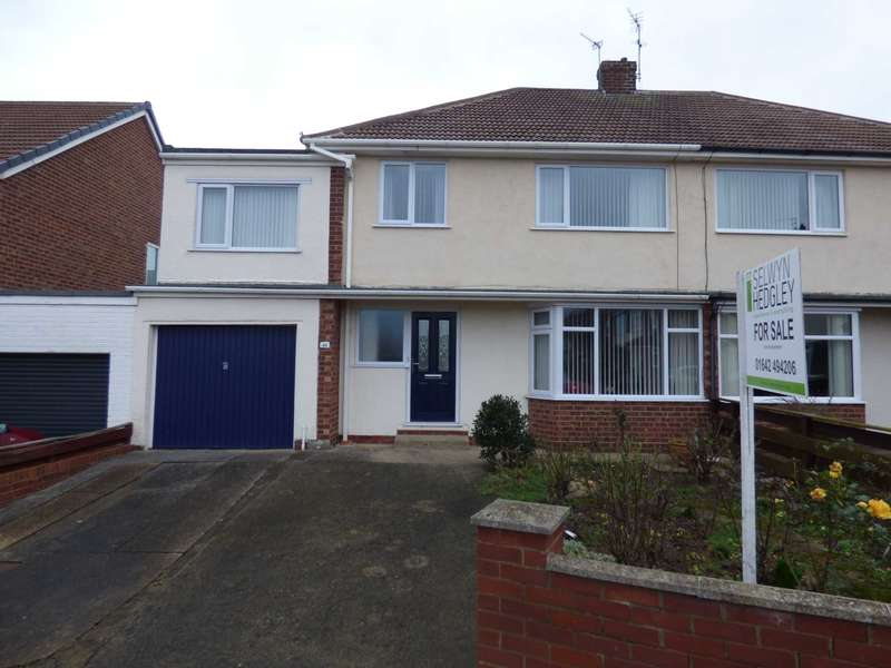 4 Bedrooms Semi Detached House for sale in Priestcrofts, Marske By The Sea