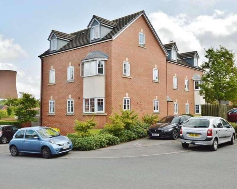 1 Bedroom Apartment Flat for sale in The Lindens, Rugeley