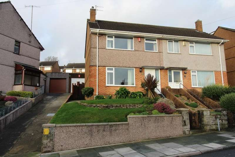 3 Bedrooms Semi Detached House for sale in Mannamead